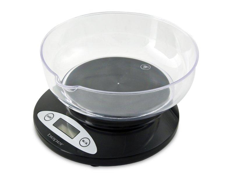 Bilancia cucina elettronica nera beper - Ventilazione cucina ...