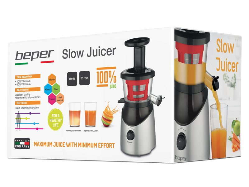 Hotpoint Ariston Slow Juicer Istruzioni : Slow Juicer - Beper