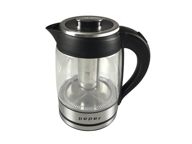 Bollitore elettrico con filtro 1 8l beper - Ventilazione cucina ...