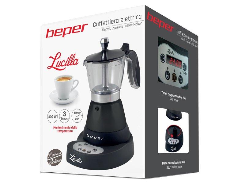 Caffettiera elettrica lucilla beper - Ventilazione cucina ...